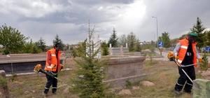Melikgazi Belediye sınırları içerisindeki 28 mezarlıkta çevre düzenleme çalışması