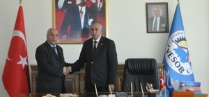 Karael, VESOB Başkanı Aydemir'i ziyaret etti