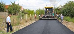 Bafra'nın 100 bin ton asfalt hedefi