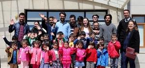Ağrı Kardelen Anaokulu Öğrencilerinden AİÇÜ'ye ziyaret