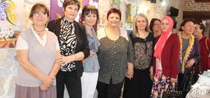Ayvalık Halk Eğitimi Merkezi kursiyerlerinden resim sergisi