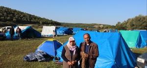 Bu da salep kent çadırları