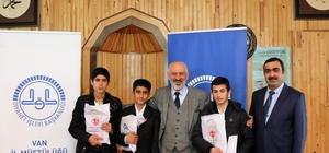 Kur'an-ı Kerimi güzel okuma bölge yarışması
