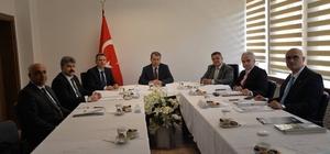 Başkan Yağcı, BEBKA toplantısını değerlendirdi