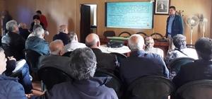 Belediyeden Yahya Kaptan'da budama eğitimi