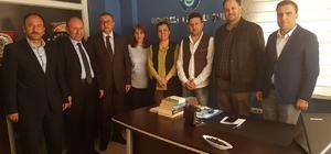 Milletvekili Hürriyet, Türk Eğitim-Sen Kocaeli Şubesini ziyaret etti