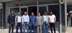 DTO Başkanı ve ekibinden Pektaşoğlu'na hayırlı olsun ziyareti
