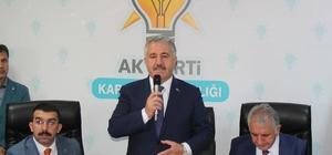 """""""Türkiye'nin büyümesinin, gelişmesinin yolunu açacak kararı Türk insanı verdi"""""""