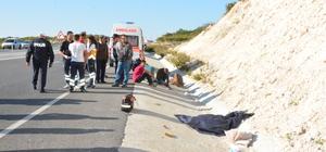 Atık şişe toplayan yaşlı otomobilin çarpması sonucu öldü