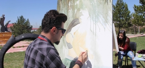 CÜ'de 'Resim ve Heykel Çalıştayı' düzenlendi