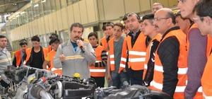 Bafra Mesleki ve Teknik Anadolu Lisesinden teknik gezi