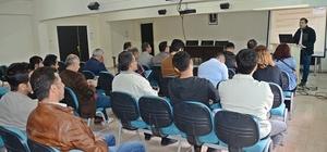 Deli dana hastalığı, eğitim toplantısı düzenlendi