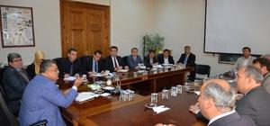 Bilecik Belediye Başkanı Yağcı, haftalık istişare toplantısı gerçekleştirdi