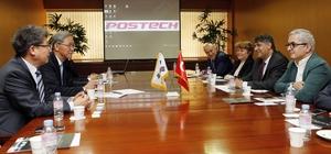 Karabük Üniversitesi ve Kardemir A.Ş.'den Güney Kore'ye iş birliği ziyareti