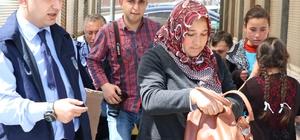 Yozgat'ta zabıta ekipleri, dilencilere göz açtırmıyor