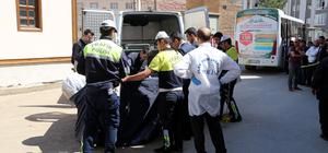 Otobüsün altında kalan Suriyeli çocuk öldü