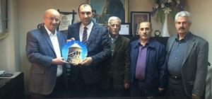 an Ahlat Kültür ve Eğitim Derneği'nden Başkan Berge'ye ziyaret