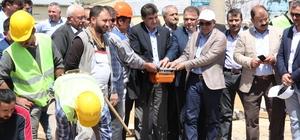 Karaman'da Sanayi Köprülü Kavşağının temeli atıldı