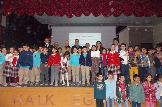"""Öğrencilere """"Geleceğimi Koruyorum"""" semineri düzenlendi"""
