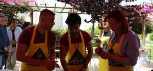 Seramik pişirim çalıştayı Mezitli'de başladı