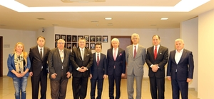 Edirne iş dünyası temsilcileri büyükelçiler ile buluştu