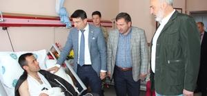 Başkan Vekili Doğan, yaralı askeri ziyaret etti