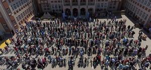 Merkezefendi Belediyesi'nden 400 öğrenciye bisiklet