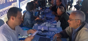 Büyükşehir Nazilli'de ücretsiz solum testi yaptı