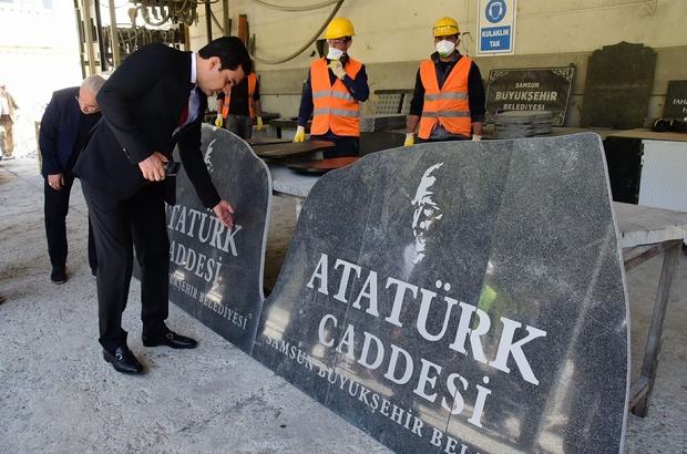 Başkan Yılmaz konuklarına Samsun'u tanıttı