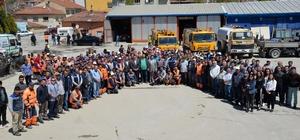 Başkan Bakıcı, personelin 1 Mayıs İşçi Bayramlarını kutladı
