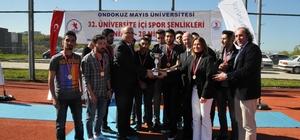 32. Üniversite İçi Spor Şenlikleri sona erdi