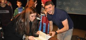 Şota, Trabzon'a bu kez yazar olarak geldi