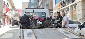 Keşan'da plakasız motosikletler toplanıyor