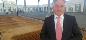 İpsala'da kapalı pazaryeri inşaatında sona yaklaşıldı