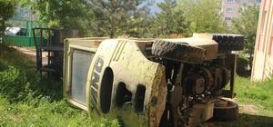 Bilecik'te forklift kazası; 1 yaralı