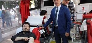 Şaphane'de rekor kan bağışı
