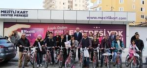 Mezitli Belediyesi, Mayıs ayı boyunca yeni iş yeri açan her esnafa bisiklet verecek