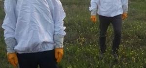Hasankeyf'te çiftçilere arı kovanı ve malzemesi dağıtıldı
