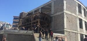 Samsun'da cami inşaatında çökme: 3 ölü, 3 yaralı