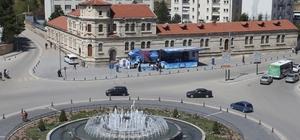 Bodrum Tanıtım TIR'ı Sivas'ta