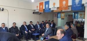 Milletvekili Eldemir ve Başkan Yalçın'ndan AK Parti İlçe Teşkilatına teşekkür ziyareti