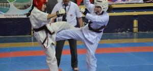 Bilecik'in ev sahipliği yaptığı Ümitler ve Küçükler İller Arası Kyokushin Karate Turnuvası sona erdi