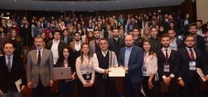 TKÜUD Başkanı Yavuzaslan Kırıkkale Üniversitesi'nin etkinliğinde