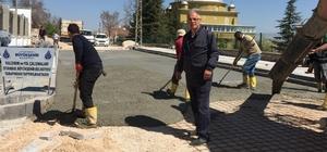 İstanbul Büyükşehir Belediyesinden Mahmudiye'ye çevre düzenlemesi