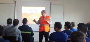 Tekirdağ AFAD'tan 'Afete Hazır İşyeri Eğitimi'