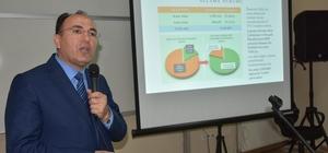 Müdür Alan, öğrencilere projeler hakkında bilgi verdi