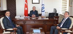 Rektör Uzun'a tebrik ziyaretleri başladı