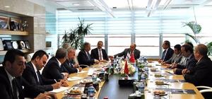 Van heyeti Ankara Lojistik Üssü'nde incelemelerde bulundu