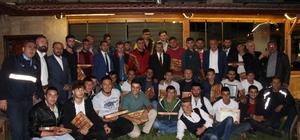 Başkan Tutal, asker adaylarıyla bir araya geldi