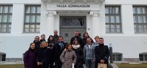 Abidin Pak-Pakmaya Anadolu Lisesi öğretmenleri Estonya'da